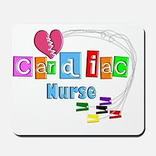 Cardiac Nurse EKG cables Mousepad