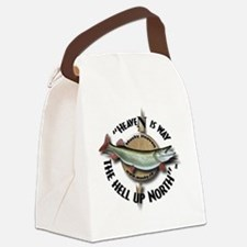 Muskie Musky Canvas Lunch Bag