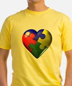 Puzzle Heart T