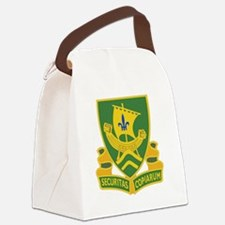 709th Military Police Battalion D Canvas Lunch Bag