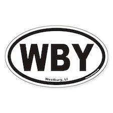 Westbury WBY Euro Oval Decal