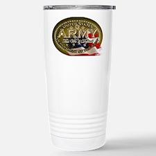 army Oval Thermos Mug