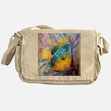 Tropical fish! Bright, art! Messenger Bag