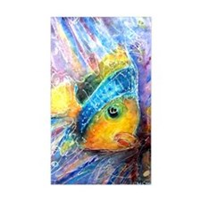 Tropical fish! Bright, art! Decal