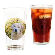 J-ORN-Palms-Golden-10b Drinking Glass