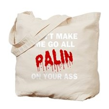 FIN-palin-on-your-ass-WonB Tote Bag