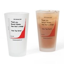 thankyou Drinking Glass