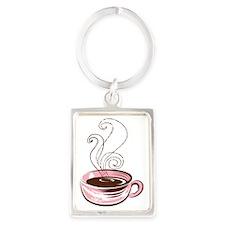 c-cup-3 Portrait Keychain