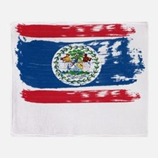 belize1 Throw Blanket