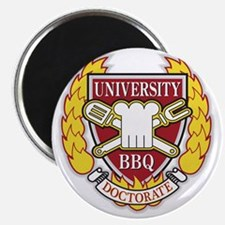 BBQ Doctorate Magnet