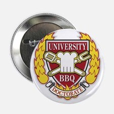 "BBQ Doctorate 2.25"" Button"