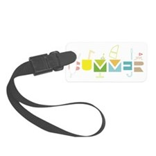Summer Time Luggage Tag