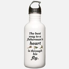 flies boxer Sports Water Bottle