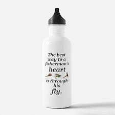 flies boxer Water Bottle
