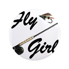 "fly girl thong front 3.5"" Button"