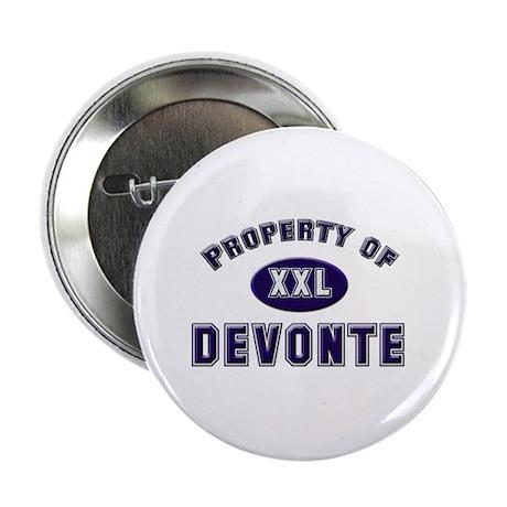 Property of devonte Button