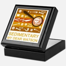 sedimentarywatson3b Keepsake Box