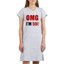 omg55 Women's Nightshirt