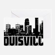 Louisville Skyline Greeting Card