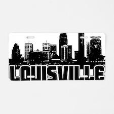 Louisville Skyline Aluminum License Plate