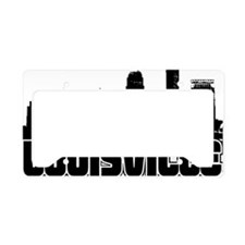 Louisville Skyline License Plate Holder