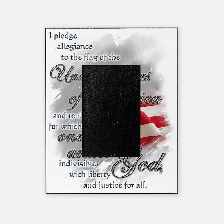 US PLEDGE OF ALLEGIANCE Picture Frame