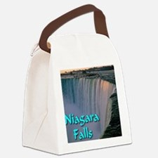 Niagara_Falls Canvas Lunch Bag