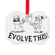 Paul-Evolve-this.eps Picture Ornament
