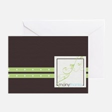 MANY THANKS Urban Chic- Greeting Cards (Pk of 10)