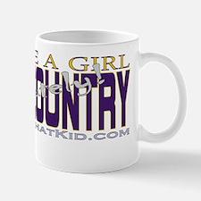 RunLikeAGirlCCPurpleGold Mug