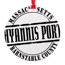 Hyannis Port Title W Ornament