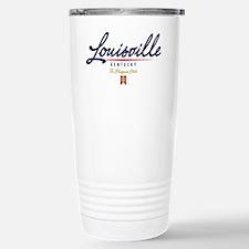 Louisville Script W Travel Mug