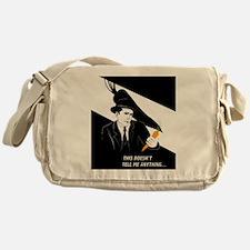 Carotte Noire 12x12 Messenger Bag