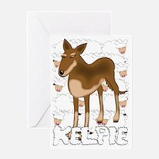 kelpie Greeting Card