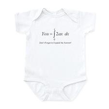Your Math Insult Infant Bodysuit