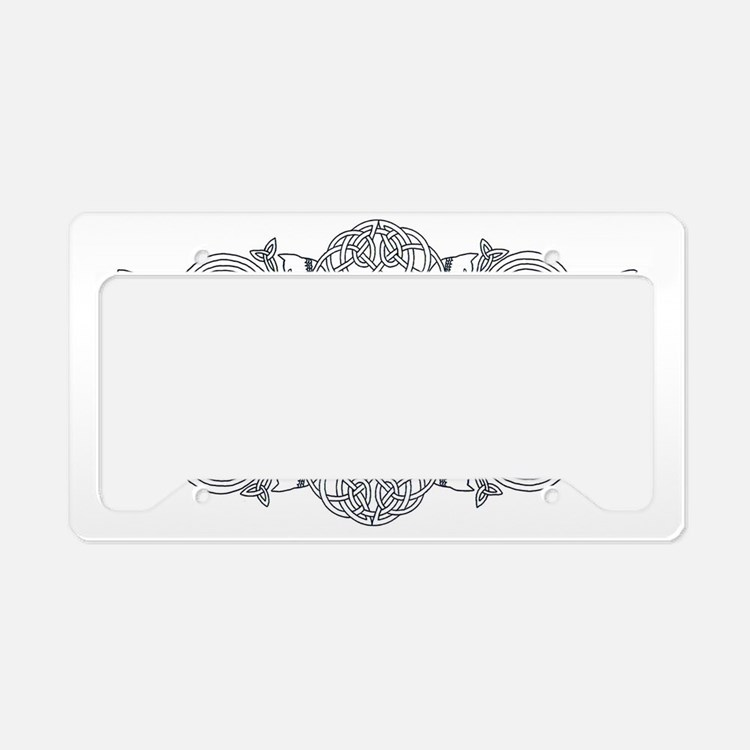My Scottish Roots License Plate Holder