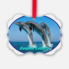 dauphin_country_transparent Ornament