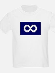 Metis Flag Kids T-Shirt