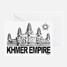khmer empire small design Greeting Card