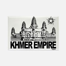 khmer empire small design Rectangle Magnet