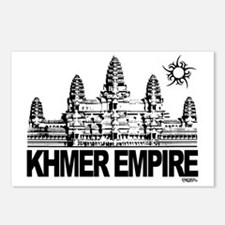 khmer empire small design Postcards (Package of 8)