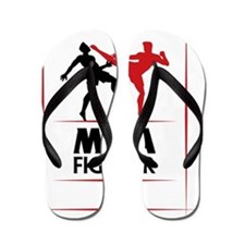 MMA Mixed Martial Arts Fighting UFC Flip Flops