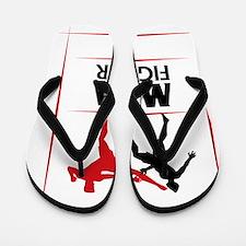 MMA Mixed Martial Arts Fighting UFC Flip Flops