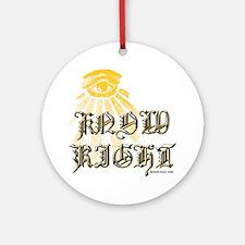 ikr Round Ornament