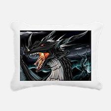 dragons 1 Rectangular Canvas Pillow