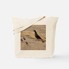 quailfamilycalendar Tote Bag