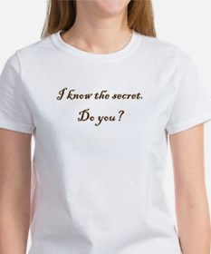Know The Secret Tee