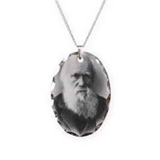 darwin Necklace Oval Charm