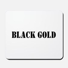 Black Gold Mousepad