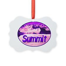 summit_transparent_deepviolet Ornament
